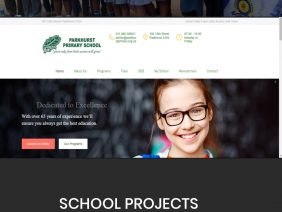 Build free websites for any school to get them online