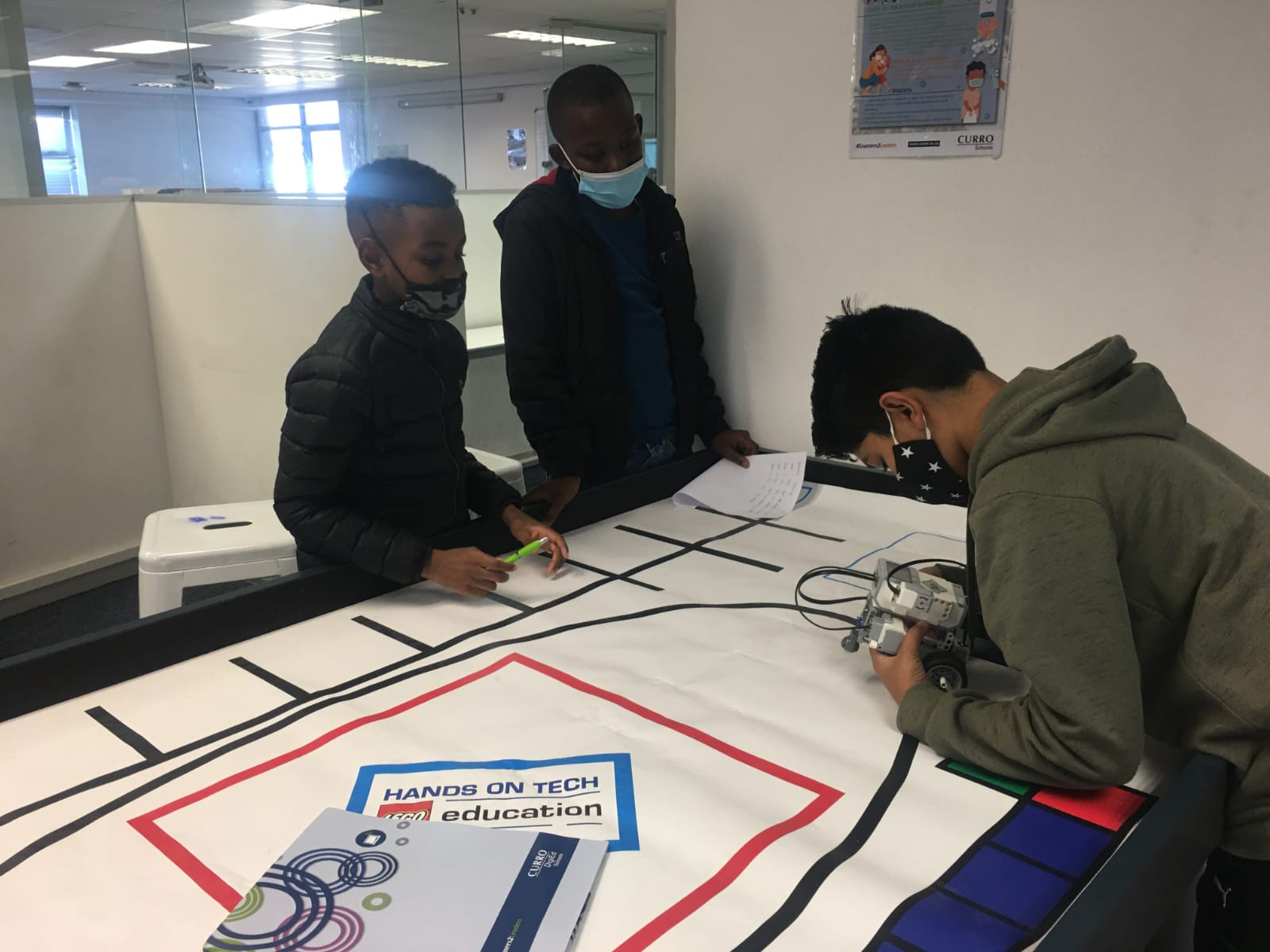 Train your child's brain at Curro's Coding and Robotics Boot Camp: 1stand 2ndOctober 2021